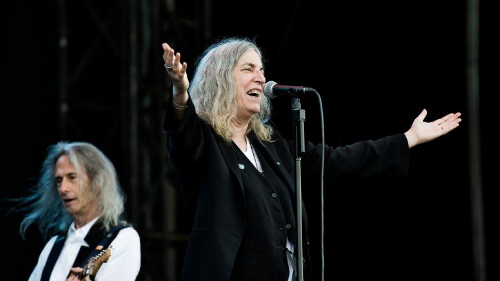 Patti Smith // Photo by Eric Pamies
