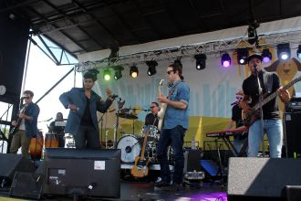 JC Brooks and the Uptown Sound // Photo by Heather Kaplan