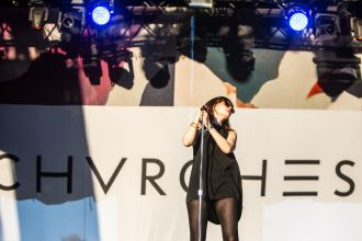 CHVRCHES // Photo by Philip Cosores
