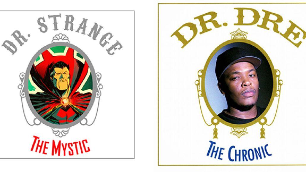 dr strange dr dre Marvel reimagines famous rap albums with comic book characters