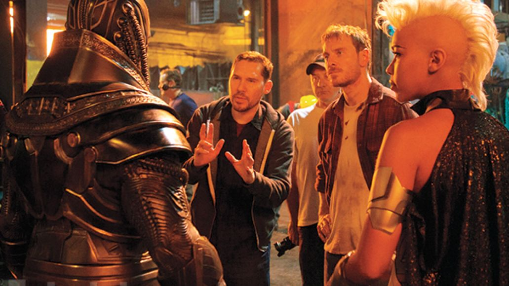 ew 1373 director brian singer Apocalypse rises, Psylocke stuns in new image from X Men: Apocalypse