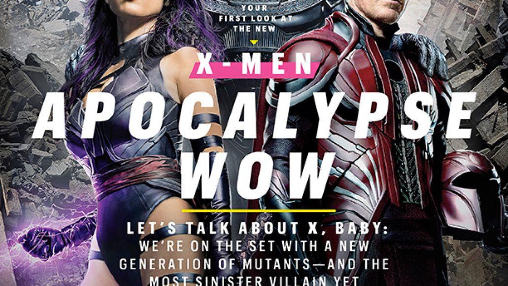 ew cover 1373 xmen Apocalypse rises, Psylocke stuns in new image from X Men: Apocalypse
