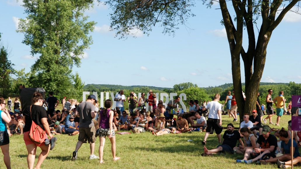 Festival Grounds Eaux Claires Sign_Amanda Roscoe Mayo