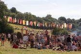 Festivalgoers at Glastonbury // Photo by Maja Smiejowska