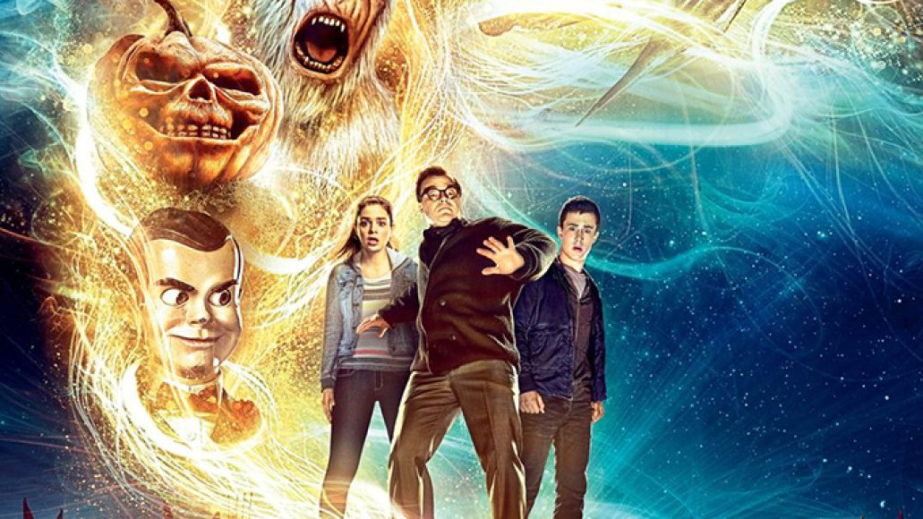 goosebumps poster Goosebumps trailer screams The Monster Squad for millennials    watch