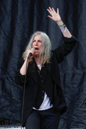 Patti Smith // Photo by Maja Smiejowska
