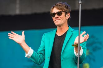 Nate Ruess // Photo by Philip Cosores