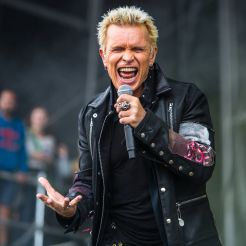 Billy Idol // Photo by Philip Cosores