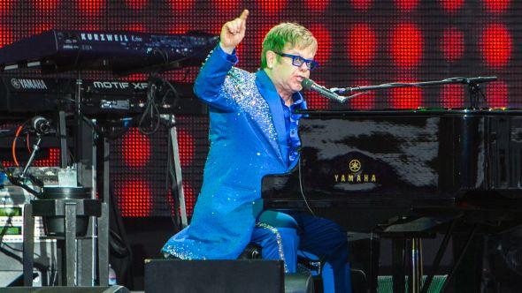 Elton John, Photo by Philip Cosores