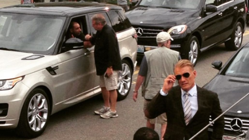 11850136 1462267877409837 1195181198 n Its not a tumor! Dolph Lundgren is currently filming Kindergarten Cop 2