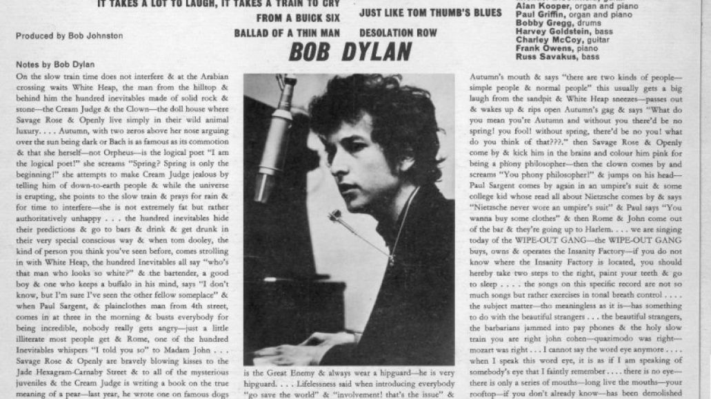 bob dylan highway 61 Tales from Highway 61: Bob Dylans Masterpiece Turns 50