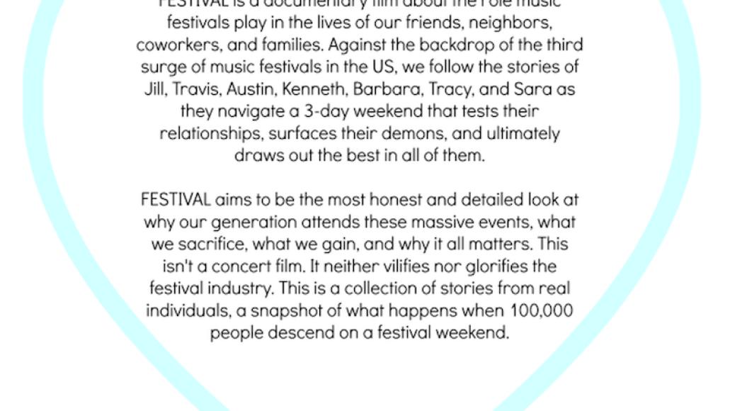 festival documentary New documentary reveals why we love music festivals