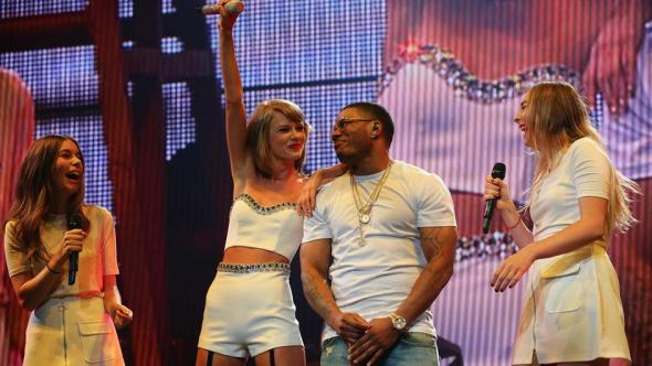 HAIM Nelly Taylor Swift