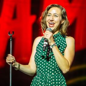 Kristen Schaal // Photo by Philip Cosores