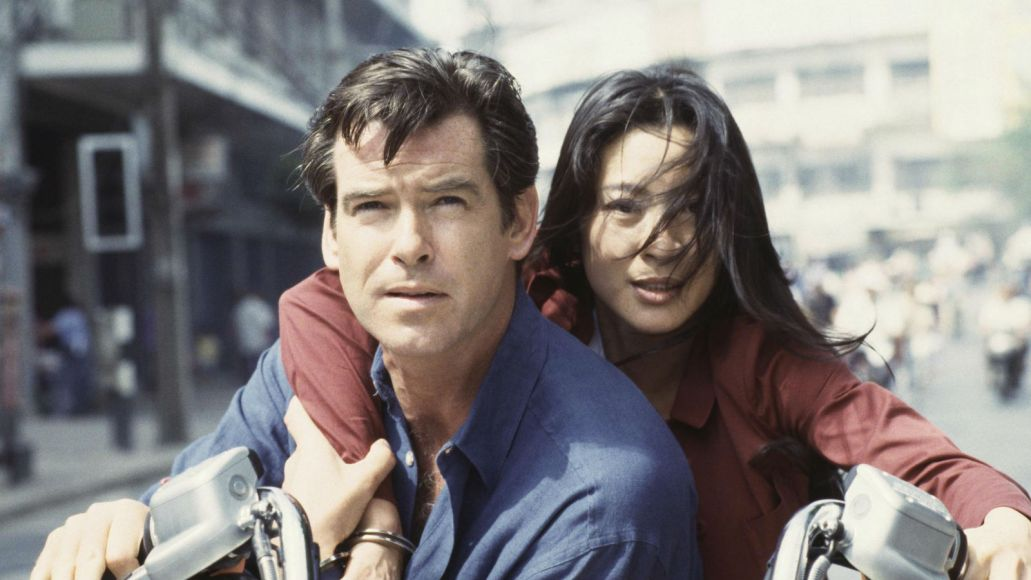 michelle yeoh tnd A Brief History of Bond Girls Through the Ages