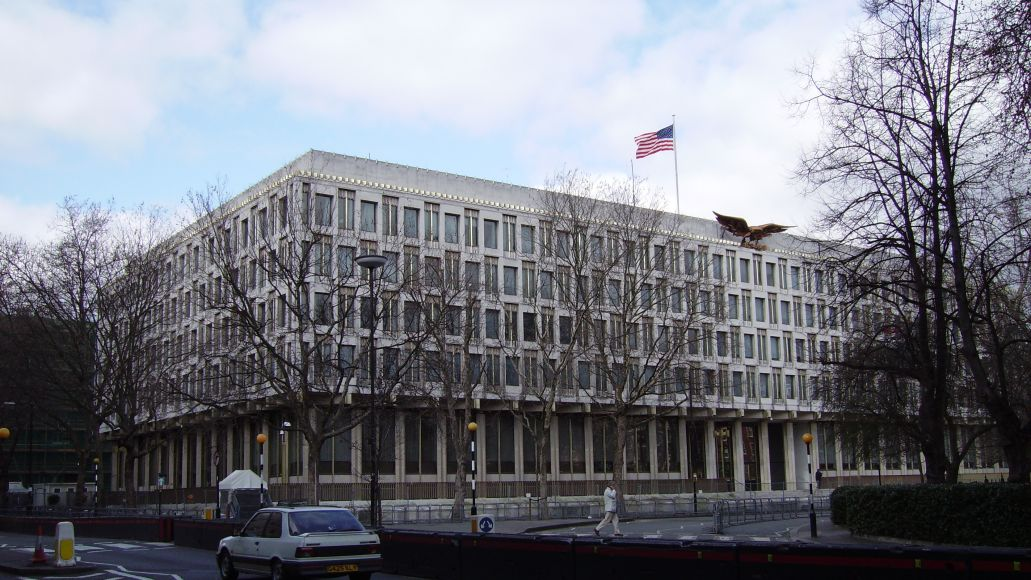 us embassy london view from se The Uphill Battle of International Touring
