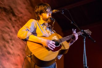 Okkervil River's Will Sheff // Photo by Philip Cosores