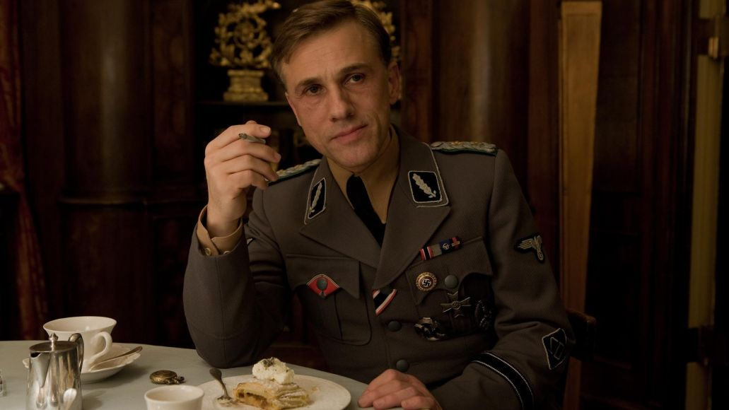 Christoph Waltz (Colonel Landa) stars in Quentin Tarantino's INGLOURIOUS BASTERDS.