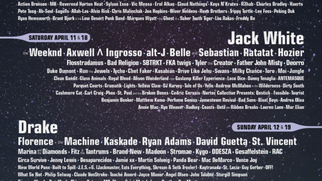 coa 2015 1800x2400 v44 Ranking: Every Coachella Lineup from Worst to Best