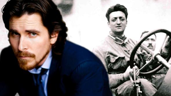 Christian Bale Ferrari