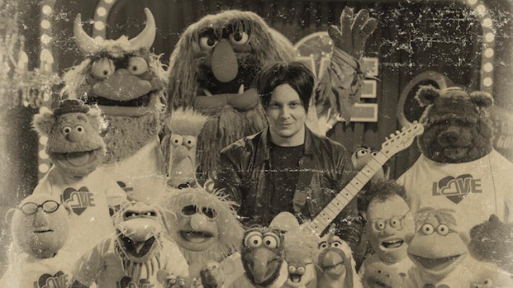 Jack White Muppets
