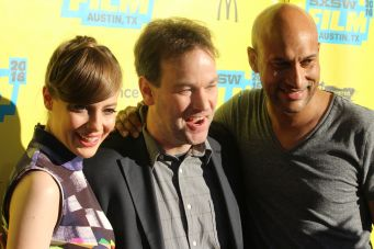 Gillian Jacobs, Mike Birbiglia, and Keegan-Michael Key // Photo by Heather Kaplan