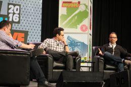 JJ Abrams and Andrew Jarecki // Photo by Heather Kaplan
