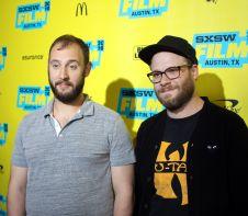 Evan Goldberg and Seth Rogen // Photo by Heather Kaplan