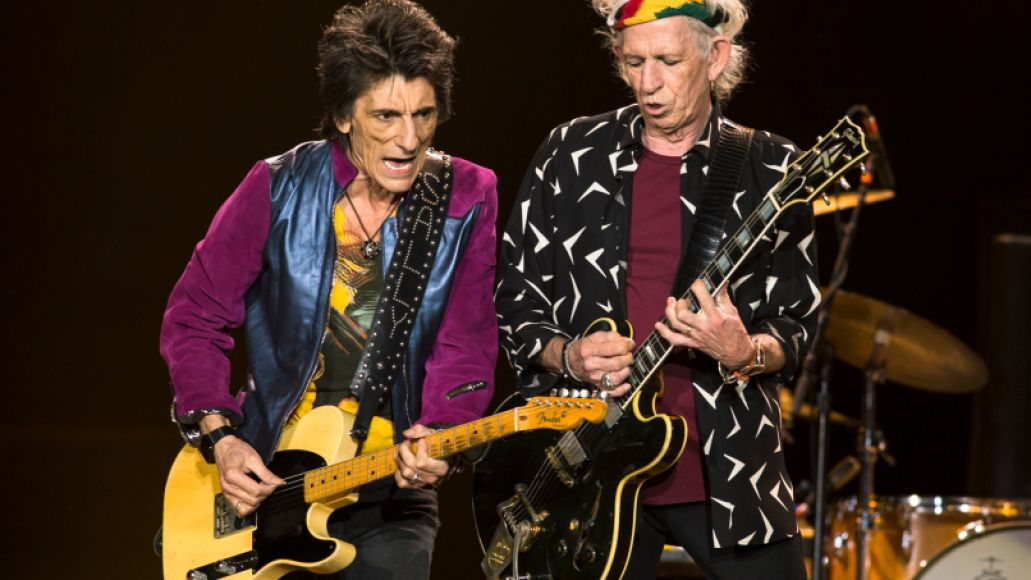 The Rolling Stones, photo by Jaime Fernandez