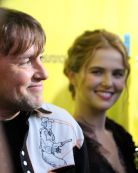 Richard Linklater and Zoey Deutch // Photo by Heather Kaplan