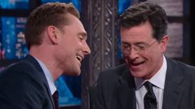 Hiddleston Colbert
