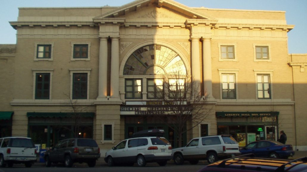 Liberty Hall Theater Lawrence KS Photo by Darren 3/16/05