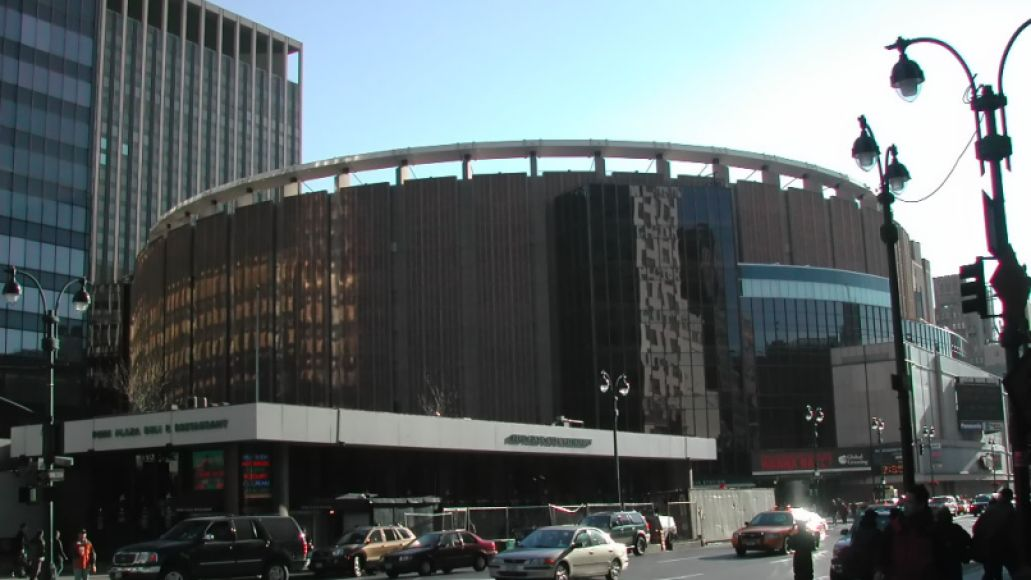 Madison Square Garden New York, New York