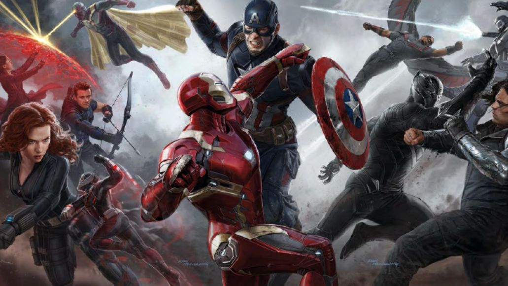 captain america civil war art Ranking: Every Marvel Movie and TV Show from Worst to Best