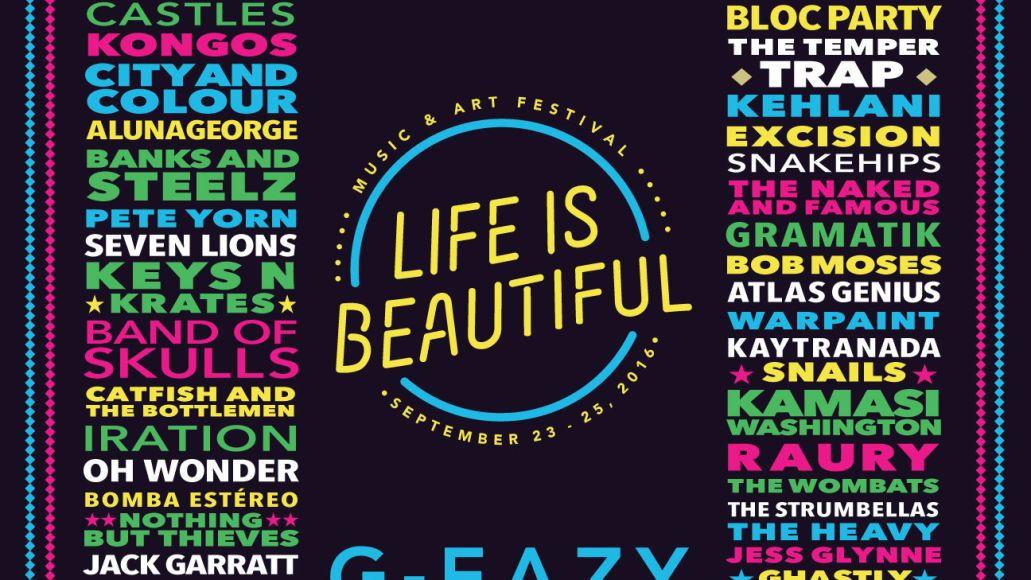 Life Is Beautiful Lineup