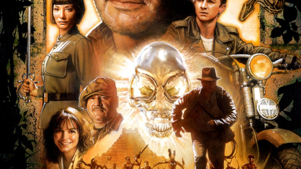 crystal skull poster Ranking: Every Steven Spielberg Movie from Worst to Best
