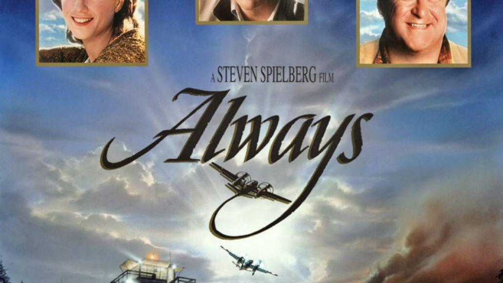 Audrey Hepburn, Always (1989, Steven Spielberg) starring Holly Hunter, Richard Dreyfuss and John Goodman