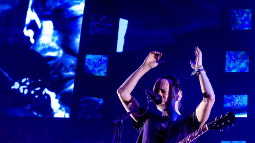 Radiohead // Photo by Lior Phillips