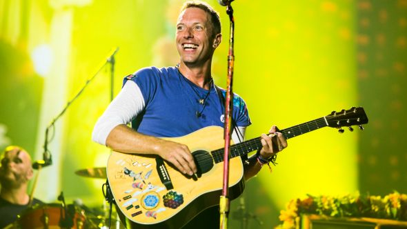 Coldplay, photo by Philip Cosores