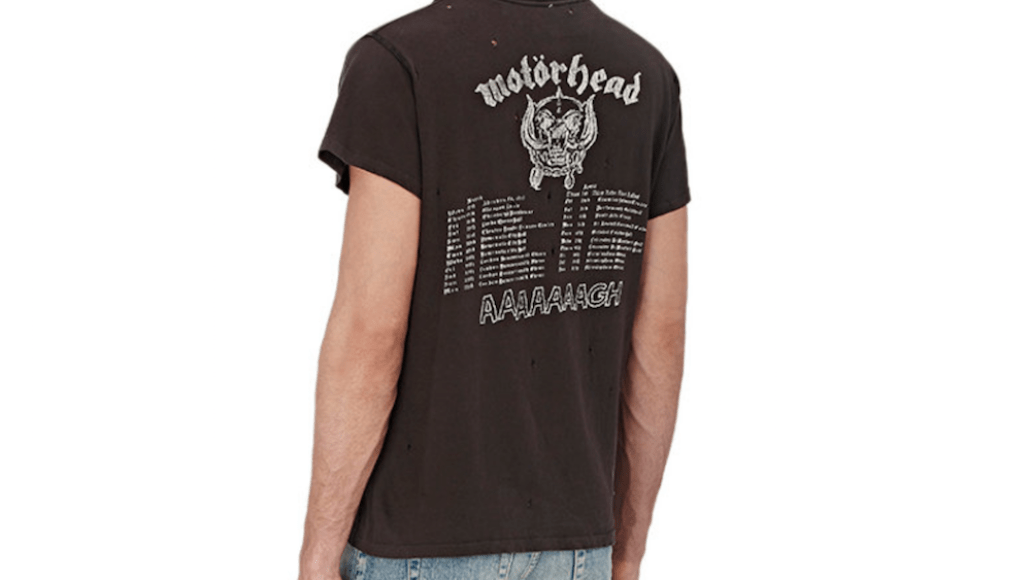 motorhead shirt Barneys is selling obscenely expensive band t shirts