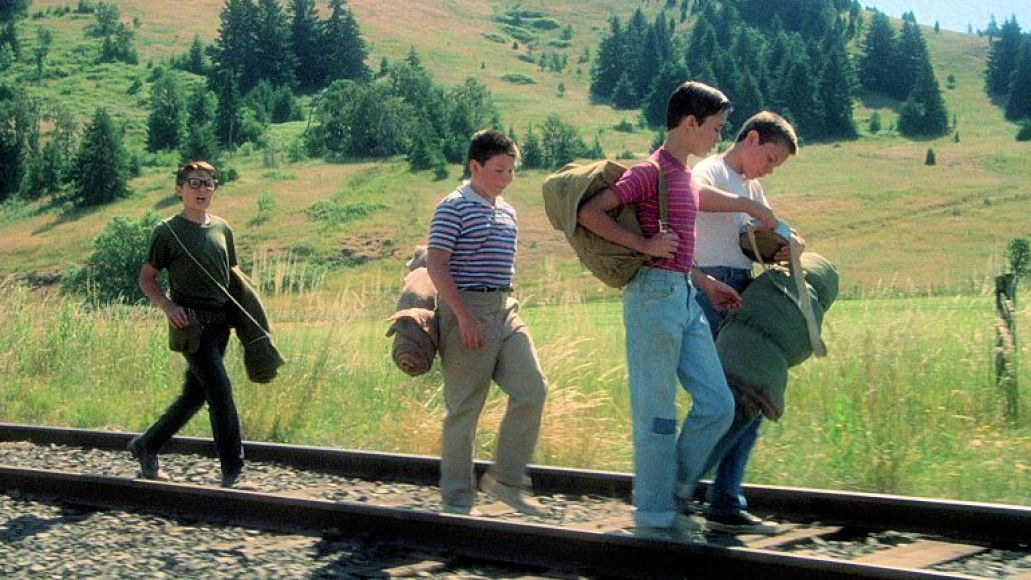 stand by me railroad tracks The 80 Greatest Movies of the 80s