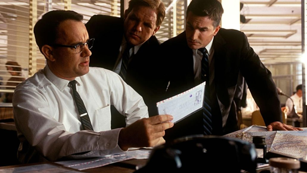 catch me if you can Tom Hanks Top 10 Performances