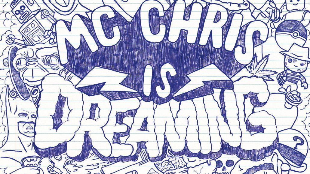 cover final 1600px Stream: mc chris new album mc chris is Dreaming