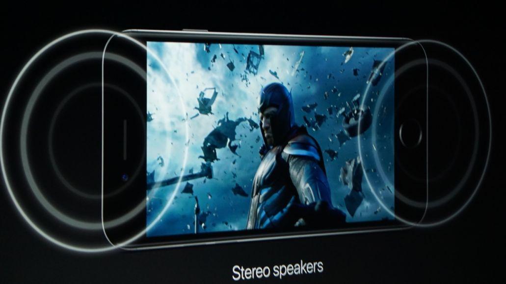 iphone stereo speakers Apple gets rid of iPhone audio jack in favor of wireless headphones, stereo speakers