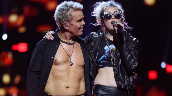 Billy Idol Miley