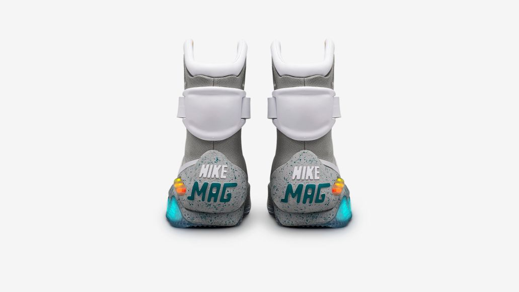 Nike to hold drawing for power lacing Nike Mags from Back to the Future Part II