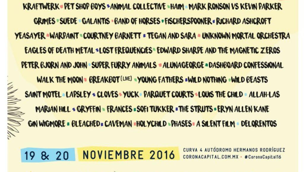 corona capital Top 10 Music Festivals: Fall 2016 Power Rankings