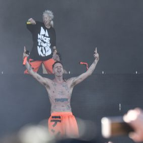 Die Antwoord // Photo by Amy Price
