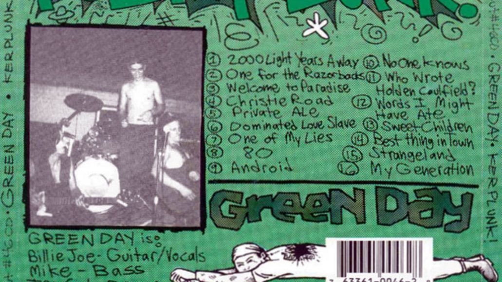 green day kerplunk trasera Ranking: Every Green Day Album from Worst to Best