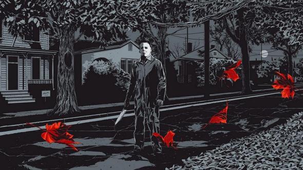 Halloween, artwork by Ken Taylor via MONDO